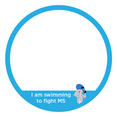 Facebook Frame - swim to fight MS