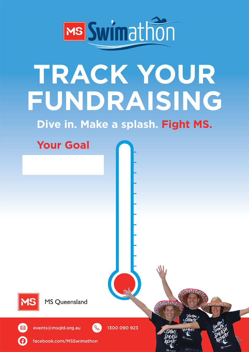 Poster- Fundraising thermometer