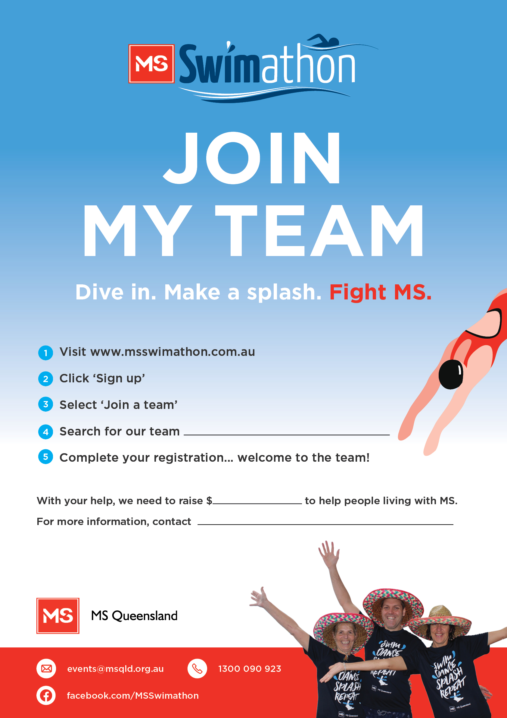 Poster- Join my team